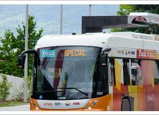 Sistema di ricarica per bus elettrici